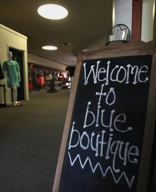 Blue Boutique Closed Permanently In Downtown Kent