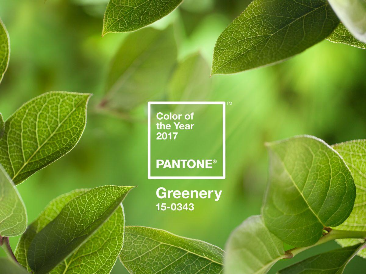 Color of the Year: Greenery